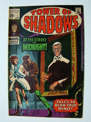 Tower of Shadows #1 Jim Steranko Art Marvel Horror Comics 1969 VG/FN