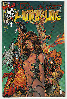 Tales of The Witchblade #1B Michael Turner Variant 1st Printing Top Cow 1996 VF