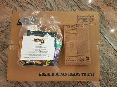 MRE Case A - meal US ARMY,