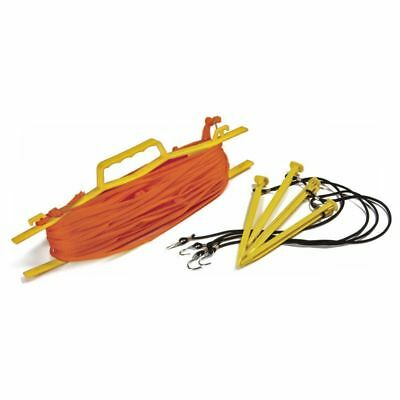 NEW Tandem Sport Rope Volleyball Court Lines, Orange