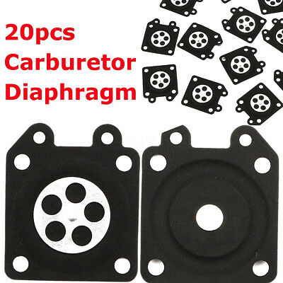 20x Chainsaw Carburetor Metering Diaphragm For Walbro 95-526 95-526-9 95-526-9-8