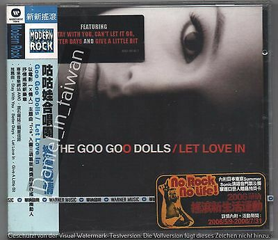 The Goo Goo Dolls: Let Love in (2006) CD OBI TAIWAN