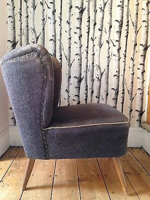Original Vintage East German Cocktail Chair Rough Luxe Mid Century Industrial