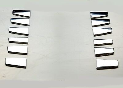 Scania Streamline End of Line Radiator Grill Super Polshed Stainless Steel 12 Pc