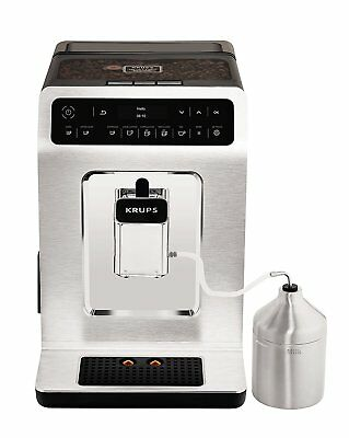 Krups - Kaffeevollautomat EA891C Evidence One-Touch-Cappuccino, OLED-Bedienfeld