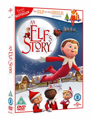 An Elf's Story: The Elf on the Shelf (DVD, 2012) *NEW/SEALED* FREE P&P