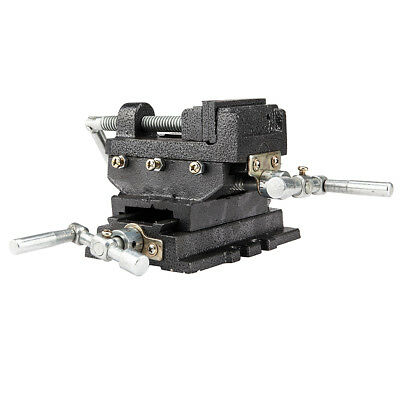Cross Slide Vise 4 inch Wide Drill Press X - Y Clamp Milling Heavy Duty Tool New