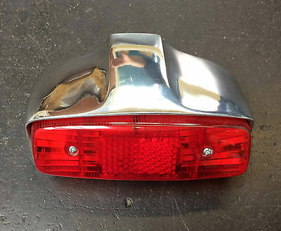 Rear light / tail lamp assembly alloy for Lambretta series 1