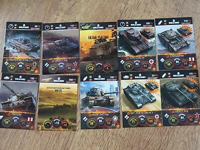 World of Tanks Trading Cards - 10 Karten - Deutsch (2)