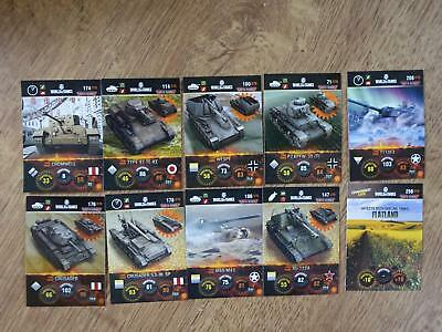 World of Tanks Trading Cards - 10 Karten - Deutsch (4)