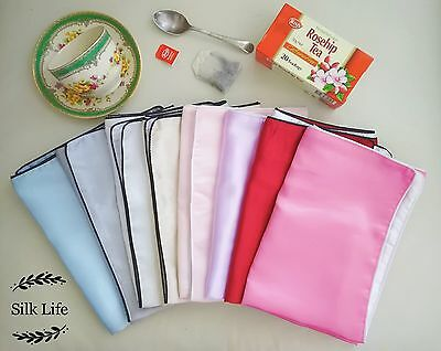 CLEARANCE 100% Mulberry Silk Pillowcase 25 Momme Silk Slip Surface Not Perfect