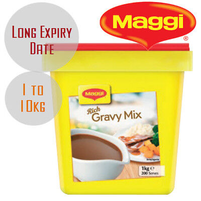 Maggi Classic Rich Gravy Mix 1kg 2kg ...7.5kg 10kg [Long Expiry Date] Made in NZ