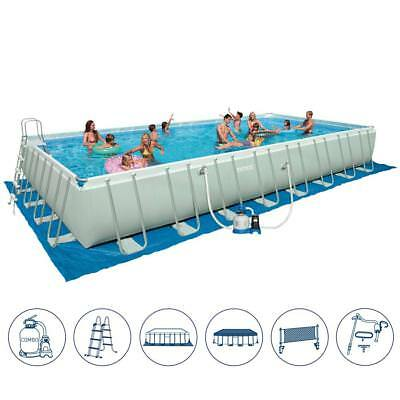 Intex 26372 ex 28372 Piscine Hors-Sol Rectangulaire 9.75 x 4.9 Frame