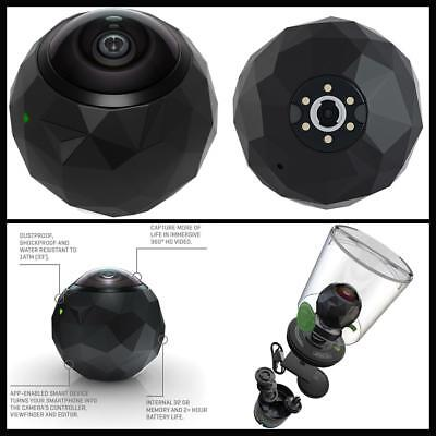 New Water Resistant Dustproof 360° HD Shockproof Sports & Action Video Camera US