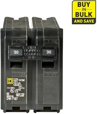 Square D Homeline HOM230CP 30 Amp 2-Pole Circuit Breaker