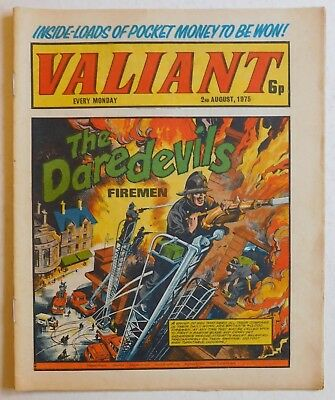 VALIANT Comic - 2nd August 1975
