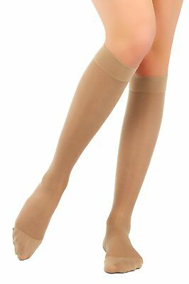 BeFit24 Medical Graduated Compression Calf Socks 23-32 mmHg, 120 Denier, Class 2