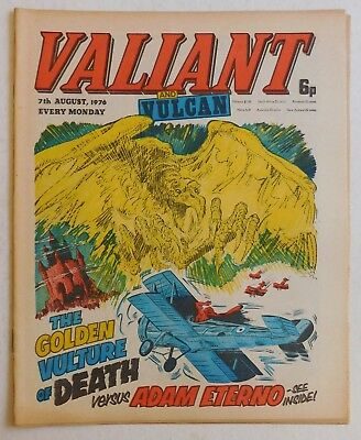 VALIANT and VULCAN Comic - 7th August 1976