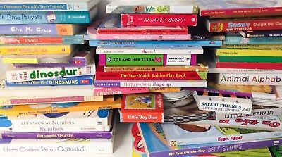 Lot of 20 Board Books Assorted Baby Toddler Preschool Chunky Mini Random Mix