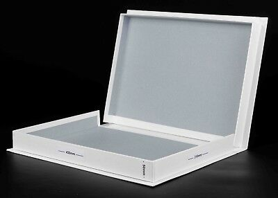 A3 Photographic Print Storage Presentation White Archival Box 50mm Acid Free