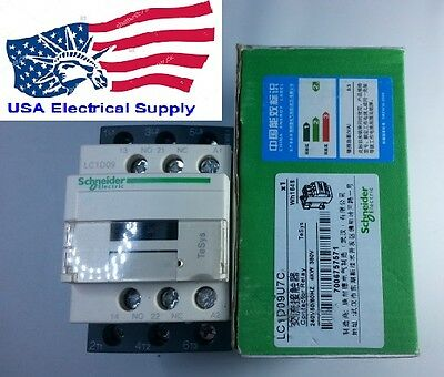 New Schneider Contactor  LC1D09U7 With Coil 240VAC 50/60Hz
