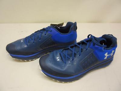 Men's Under Armour Horizon STC Running Shoe SMS Sample *NEW* Size 9 Blue