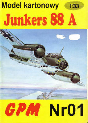GPM   1 - Junkers 88 A - 1:33