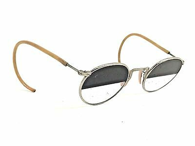 Vintage Ao American Optics FULVUE Frame Shaded Lens Eye Glasses Nw5 STEAMPUNK