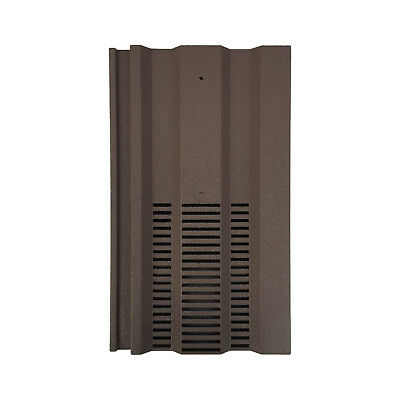 Roof Tile Vent To Fit Redland 49, Marley Ludlow Plus | 15 x 9 | Brown Granular