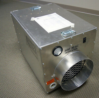 air scrubber negative filtration movers abatement portable aerospace America