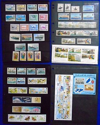 Jersey, Guernsey, Alderney & Isle Of Men Collection of Stamps & Miniature Sheets