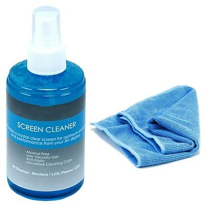 Screen Cleaner Cleaning Kit 200 ml LCD Plasma PC Laptop Tablet Monitor Display