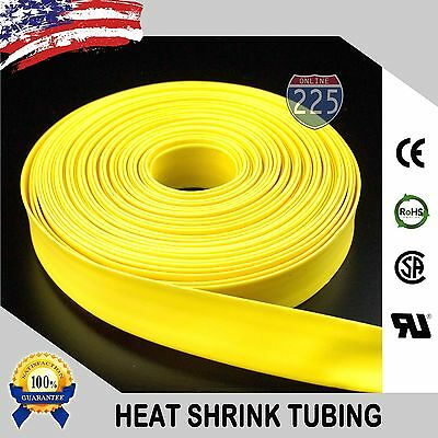 """25/' Feet CLEAR 3//16/"""" 5mm Polyolefin 2:1 Heat Shrink Tubing Tube Cable US 25 FT"""