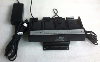 Panasonic Attune WX-Z3040 Battery Charger With Power Supply 2 Batteries Working