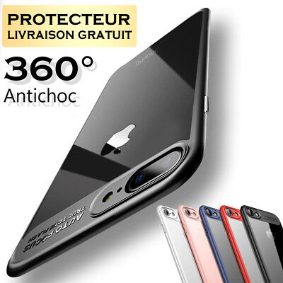 Coque Pour iPhone 8 7 6S 6 PLUS 5S XR X XS MAX Housse Protection Antichoc Case