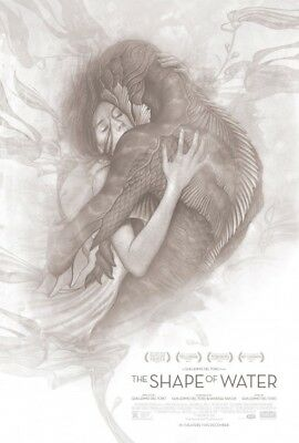 Shape of Water  Movie Poster Double Sided 27x40 Original