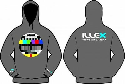 Illex No Signal Time for Fishing Kapuzen Sweat Hoodie BRANDNEU FÜR 2017