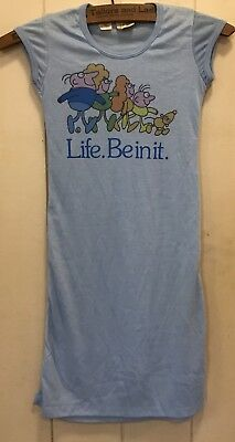 Child's Vintage 'Life. Be In It.' Dress - Size 3