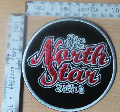 Rise Of The North Star Rare Woven Round Patch Black Flag Bad Religion Terror