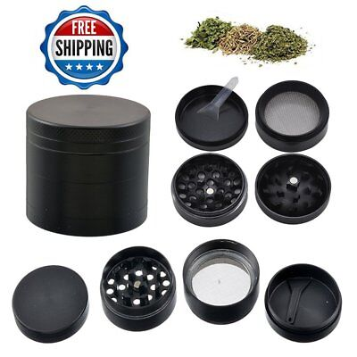 4 Layers Alloy Tobacco Crusher Hand Muller Tobacco Herb Metal Grinder Magic Zinc