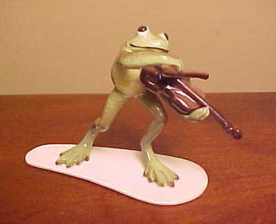 Hagen-Renaker Specialty #3181 Froggy/Froggie Mountain Breakdown FIDDLE PLAYER