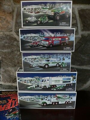 Collectible Hess Trucks 2002, 2003, 2004, 2005, and 2007 New Unused with Bags #4
