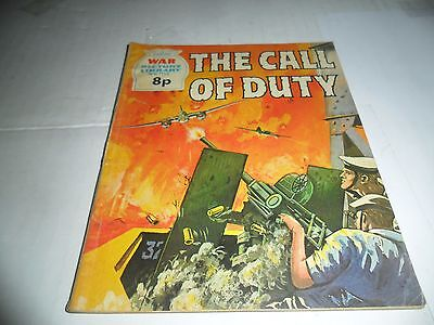 WAR PICTURE LIBRARY No  1114 dated 1975  GOOD for age,great  OLD issue.