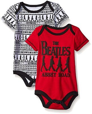 The Beatles Baby Boys' Value Pack Bodysuits
