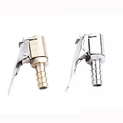 Easy Use Portbale Car Tire Tyre Inflator Valve Adapter Air Chuck Gold Silver