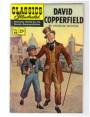 Classics Illustrated Comic Book # 48 HRN 166 in VF+ DAVID COPPERFIELD by DICKENS