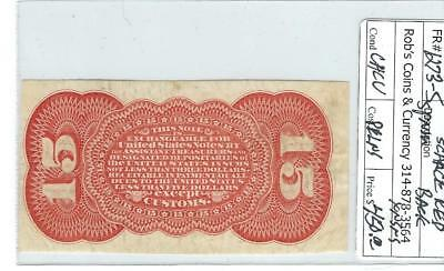 Red Reverse from 15c Grant & Sherman Specimen issue ..... NO RESERVE