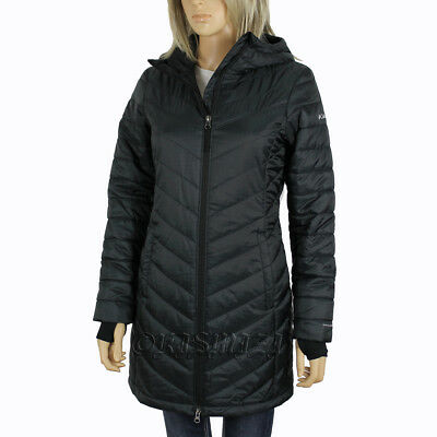 "New Womens Columbia ""Morning Light II"" Omni-Heat Hooded Winter Jacket Coat"