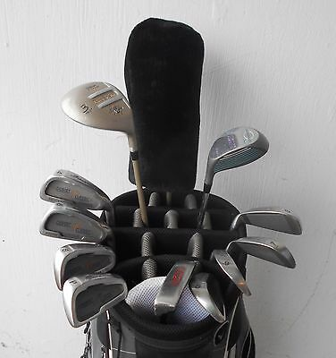 Complete Set Ladies Rh Wilson Palm Springs Golf Clubs Driver Fwys Iron Set Ptr!