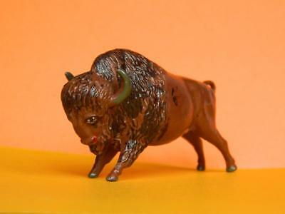 TIMPO TOYS VINTAGE 1950s RARE LEAD ZOO SERIES / WILD WEST BISON / BUFFALO